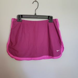 Nike Pink Athletic Skort Tennis M